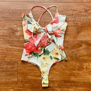 Floral Situation Bodysuit